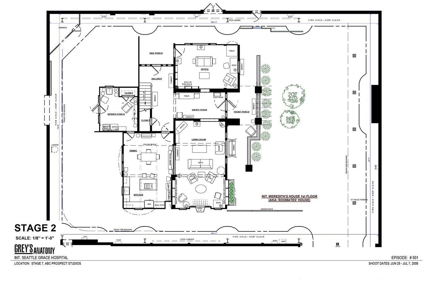 Greys Anatomy Merediths House — Sceneups